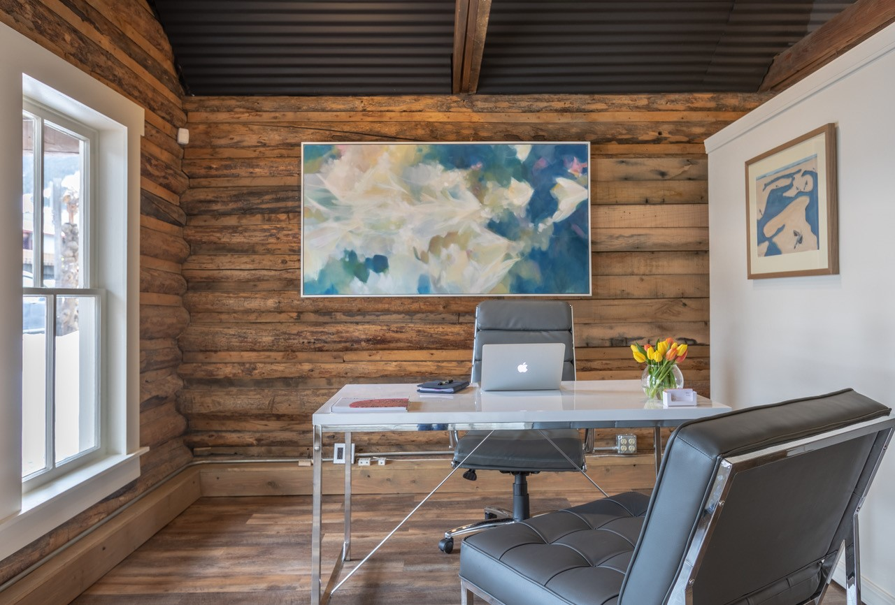 Shari Brownfield Fine Art Office Cabin Jackson Wyoming
