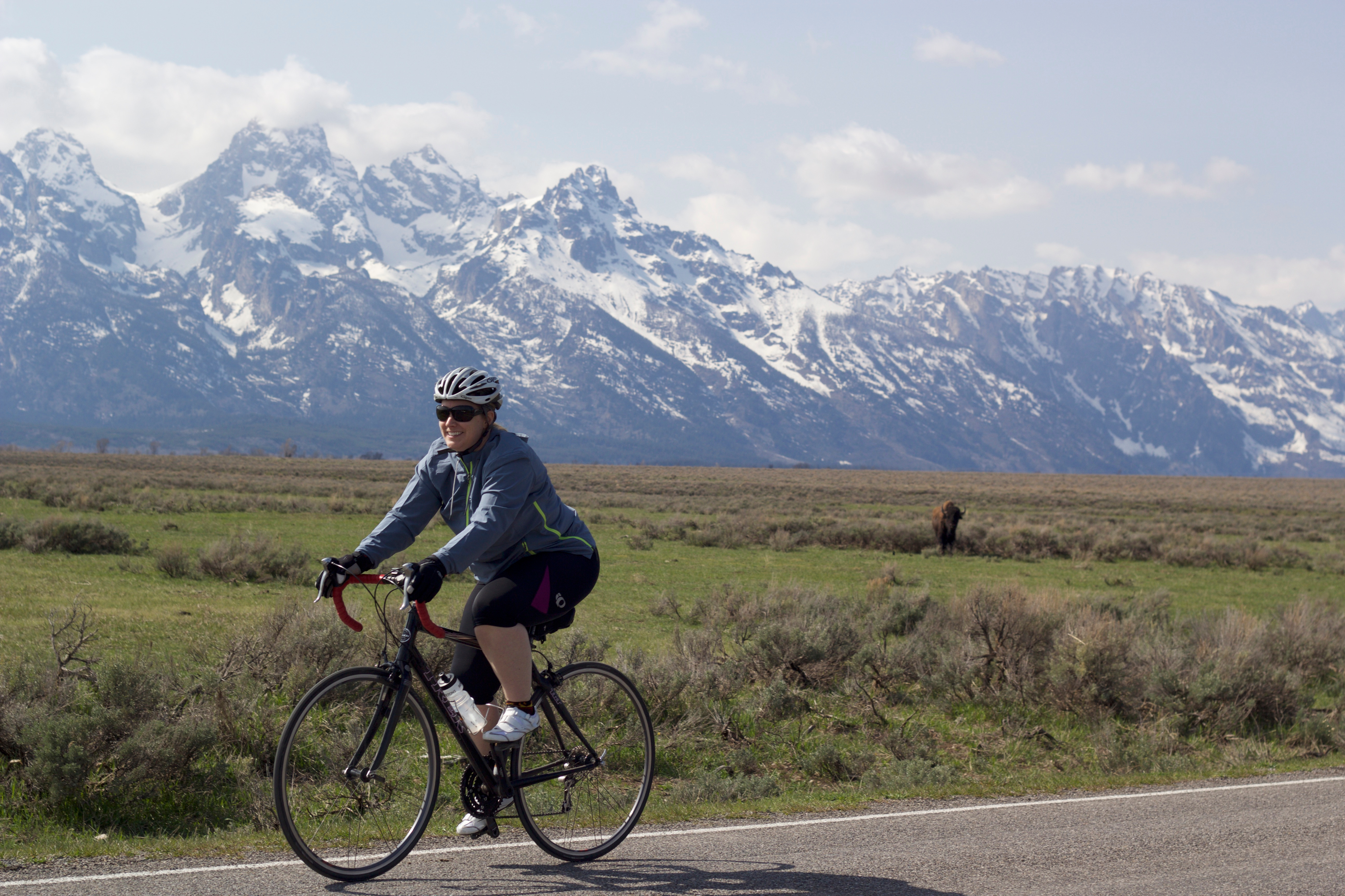 bike path grand teton