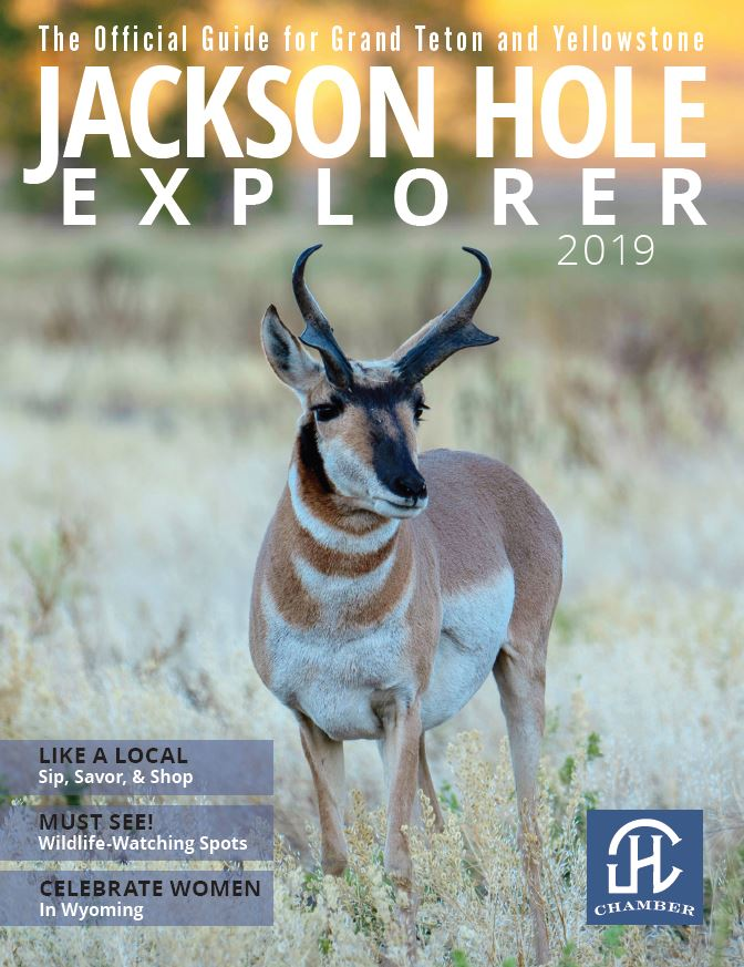 Jackson Hole Explorer Travel Planner Magazine by the Jackson Hole Chamber of Commerce