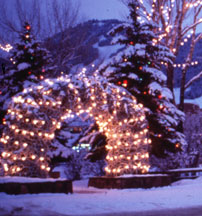 town square lighting jackson hole chamber of commerce