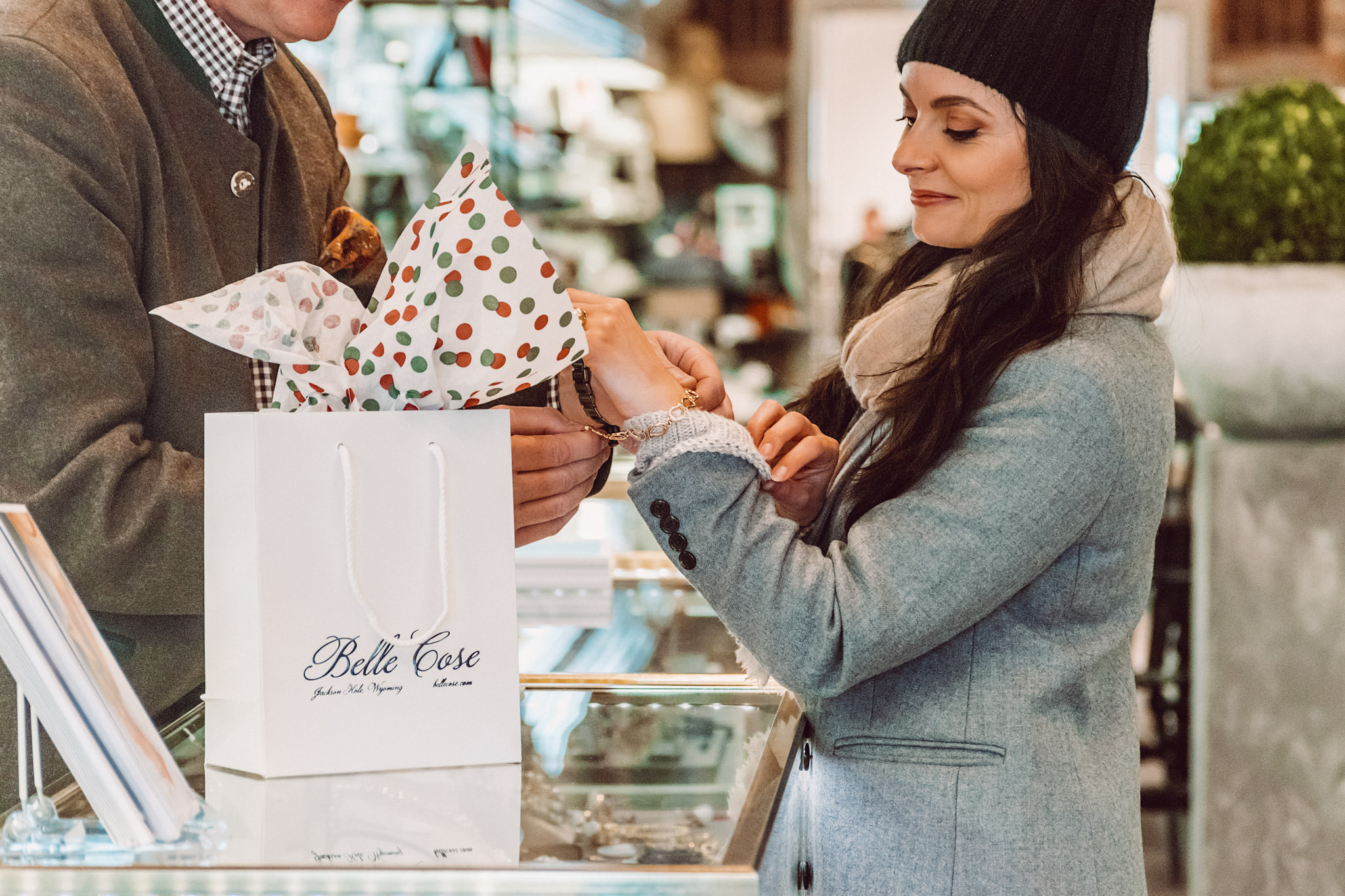 Belle Cose Jewelry Store Woman Boutique Jackson Hole Wyoming WY Shopping