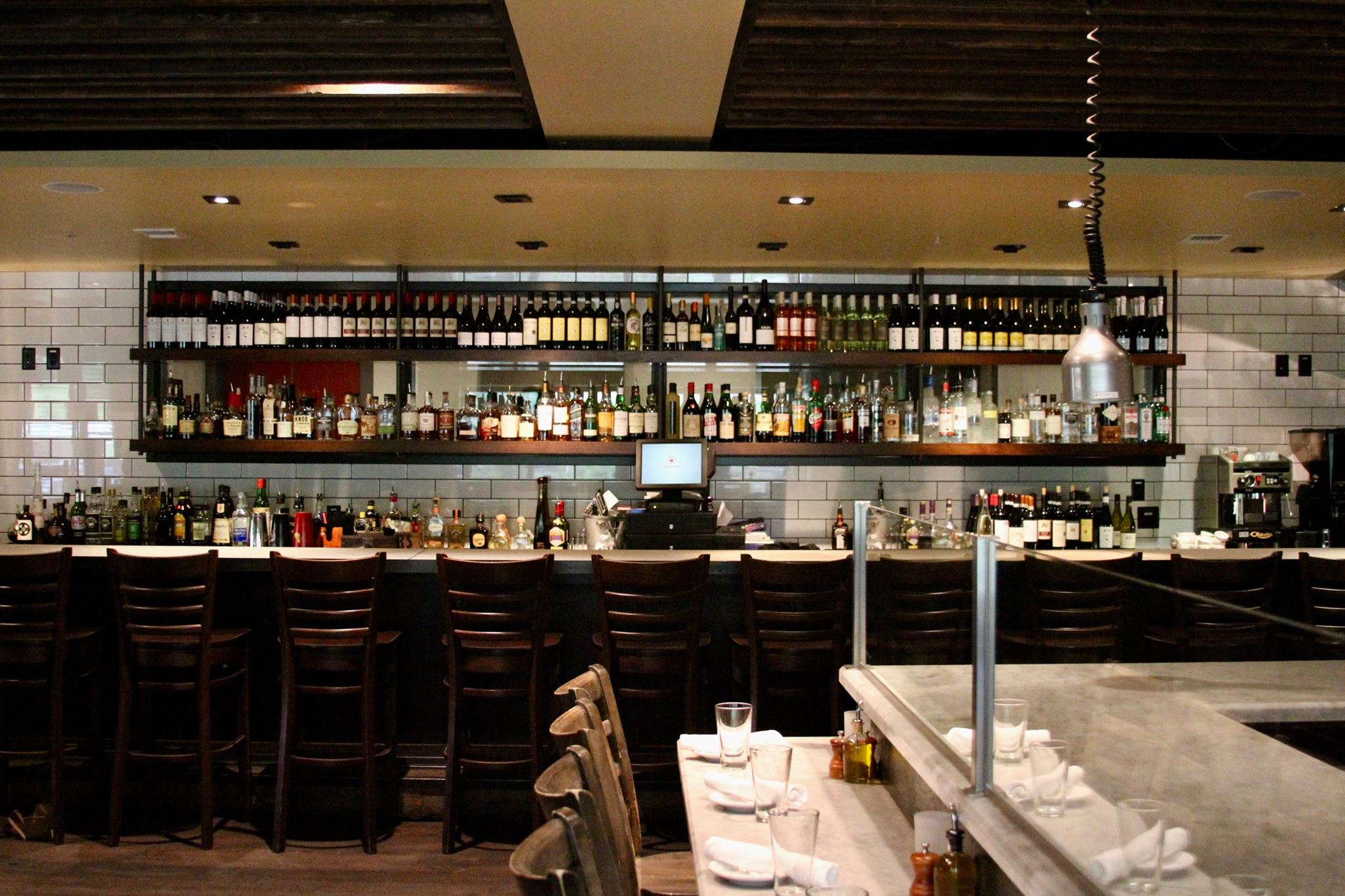 Il Villagio Osteria wine bar Teton Village Jackson Hole Wyoming