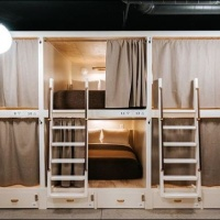 Cache House Hostel by The Anvil Hotel's Double Bunk Beds