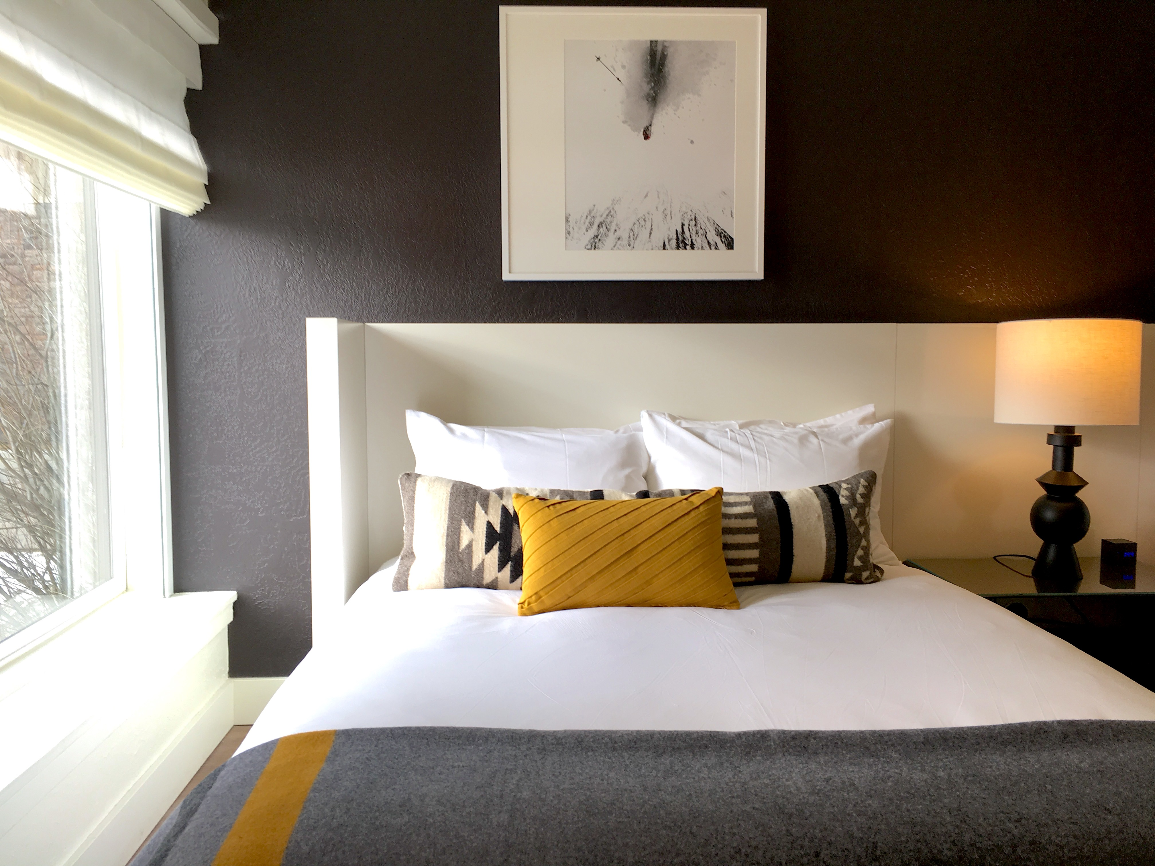 Continuum Hotel by Teton Gravity Research in Jackson Hole, Wyoming and Teton Village. Queen Room